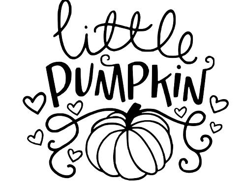 Little pumpkin top