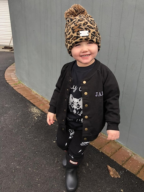 Baby & Toddler Embroidered Bomber Jacket