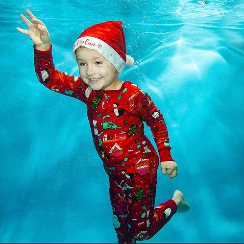 Personalised Santa hat - kids size