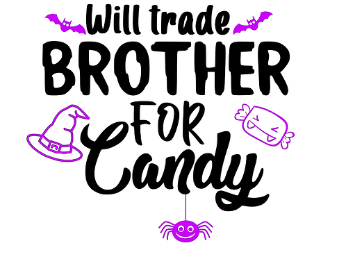 Will trade brother for candy top