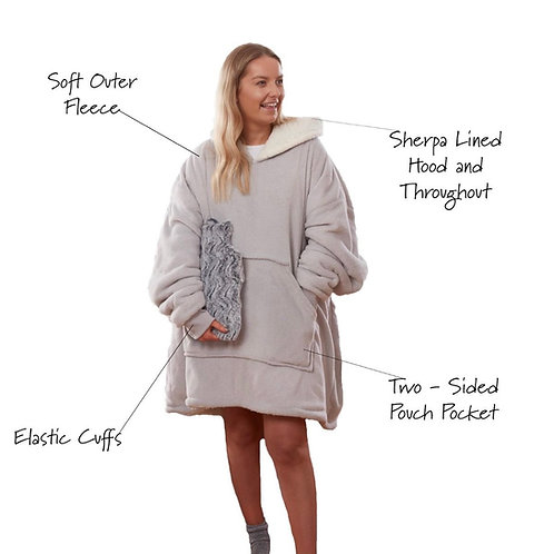 Adult hooded blanket - intro offer no codes!!