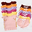 Thumbnail: Girls Embroidered Ribbed Short Set - intro offer - no codes