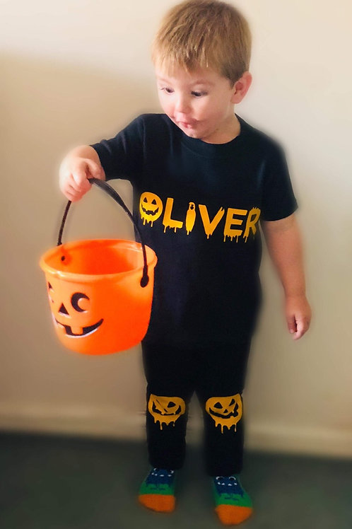 Personalised Halloween Top