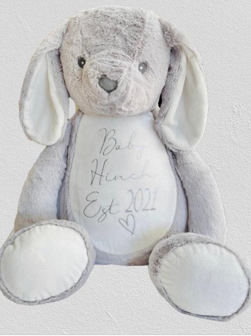 Personalised Giant Bunny Teddy