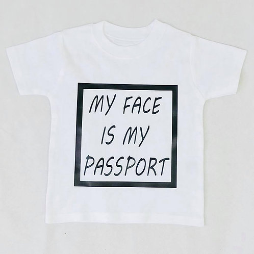 My face is my passport Top