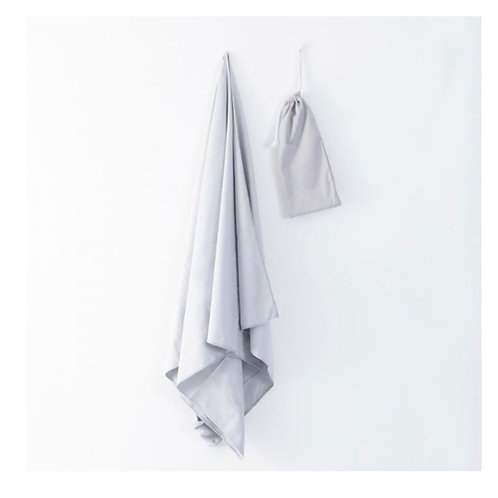 Micro fibre towel with bag