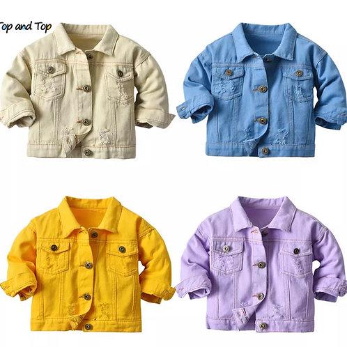 Tie Dye Demin Jacket
