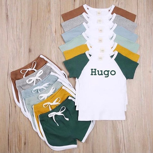 Raglan Short and tee set