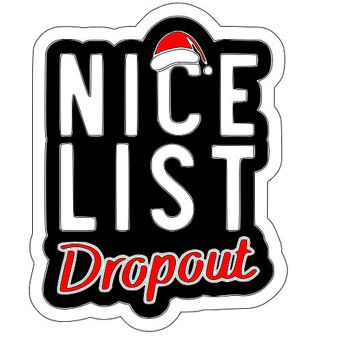 Nice list dropout top