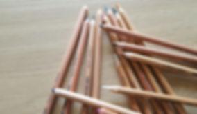pastel pencils