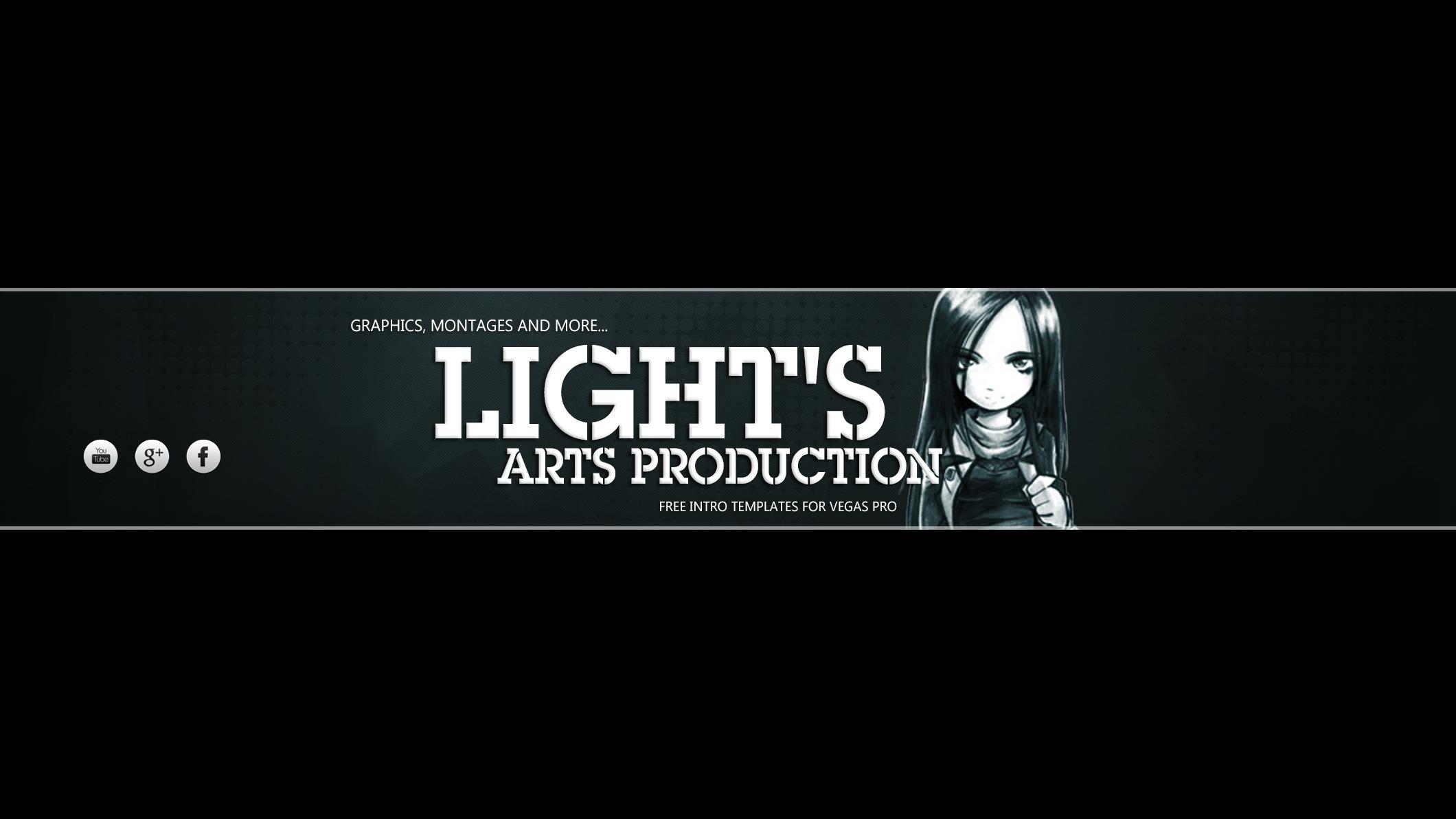 Vegas 14pro Templates Lights Arts Production