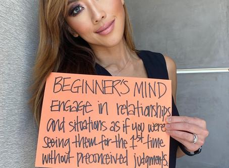 Beginner's Mind to Promote a Positive Mindset