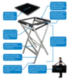 Универсальный монтажный стол