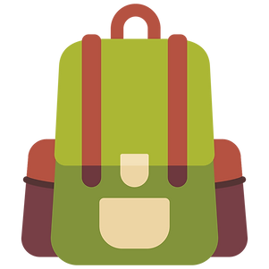 bag, camping, travel, backpacker, school