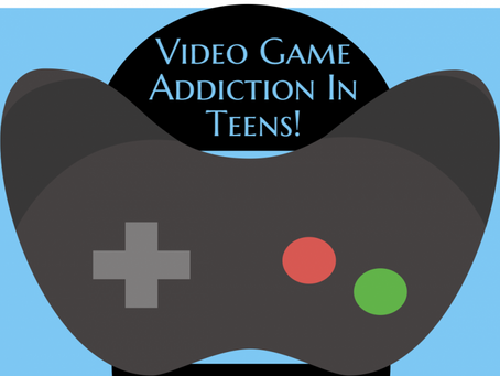 Signs of Video Game Addiction Infographic