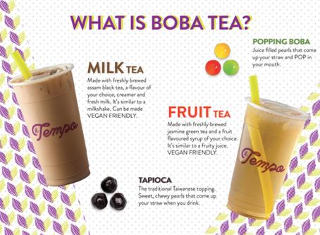 Boba Tea 101
