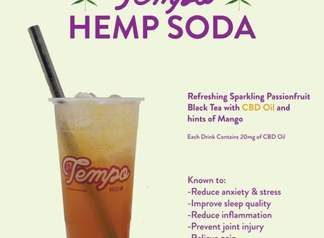 HEMP SODA & HEMP DROPS