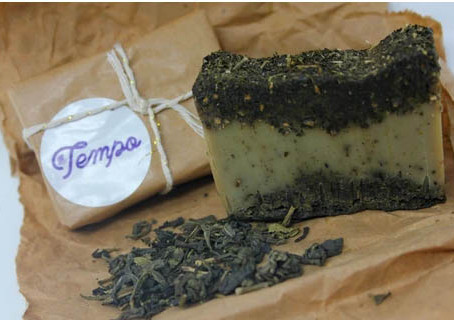 Natural Jasmine Soap Scrub!