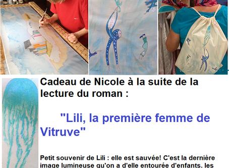 """Commentaires après la lecture de   """"Lili ,la première femme de Vitruve"""""""