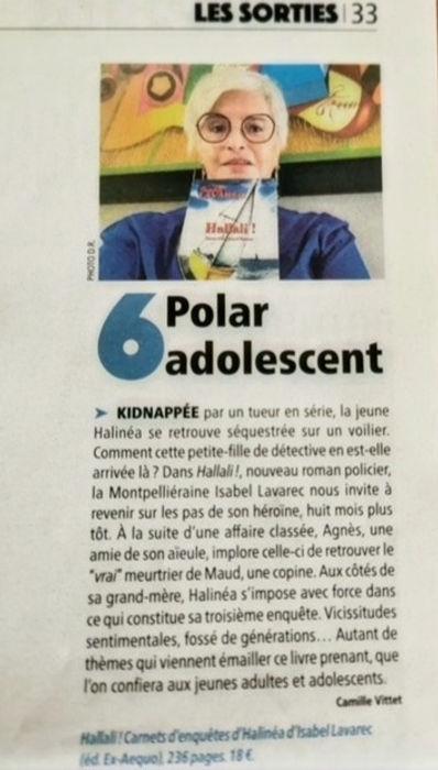Article Lagazette Camille Vittetjpg