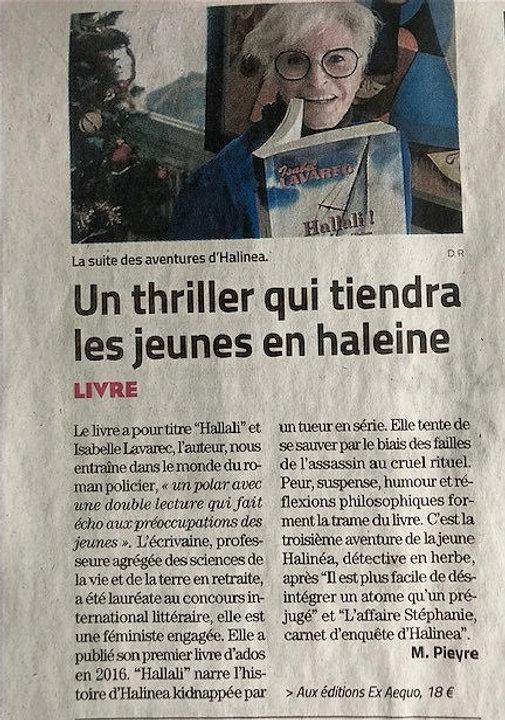 article Michel Pieyre Midi libre Montpel
