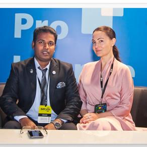 Dr. Jayakumar Venkatesan in support of Global Kids Meditation «Happy Planet» 20.03.2020
