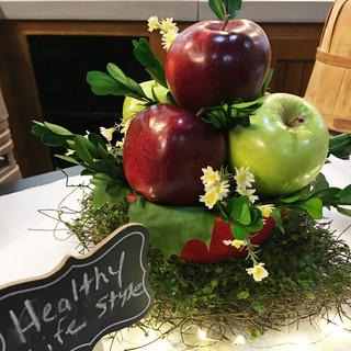Apple Cluster Table Centerpiece