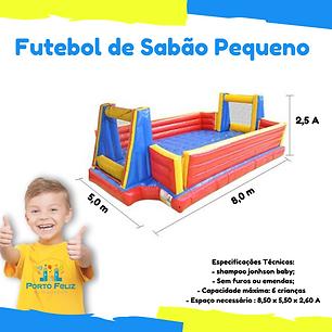 Aluguel Futebol de sabao