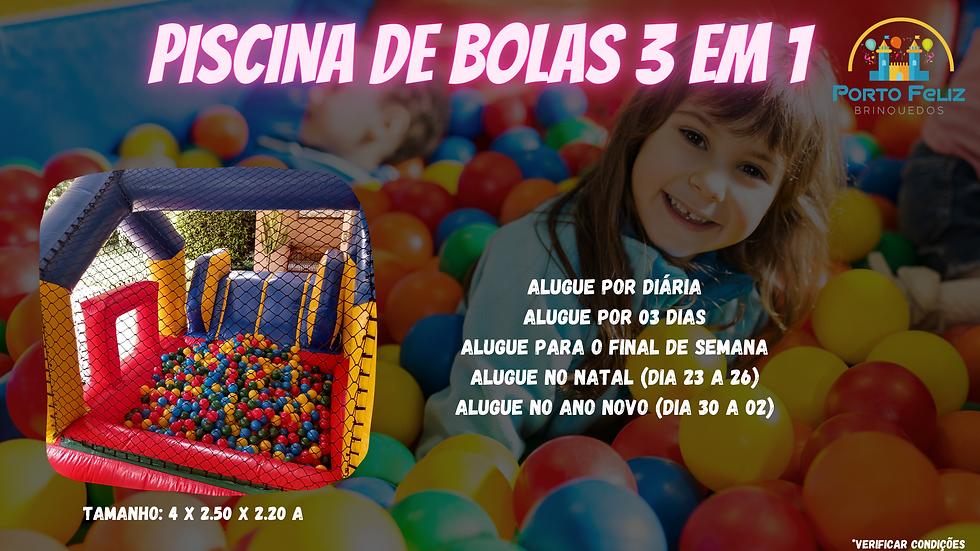 Aluguel Piscina de Bolinhas