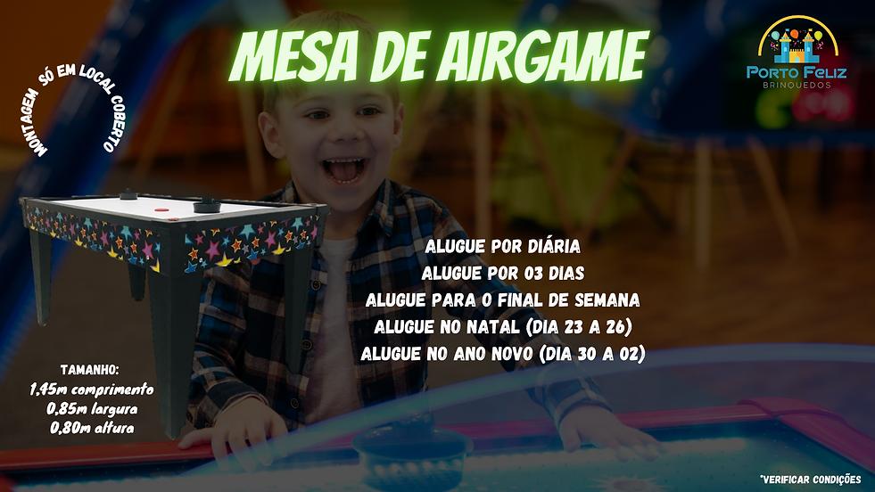 Aluguel Airgame