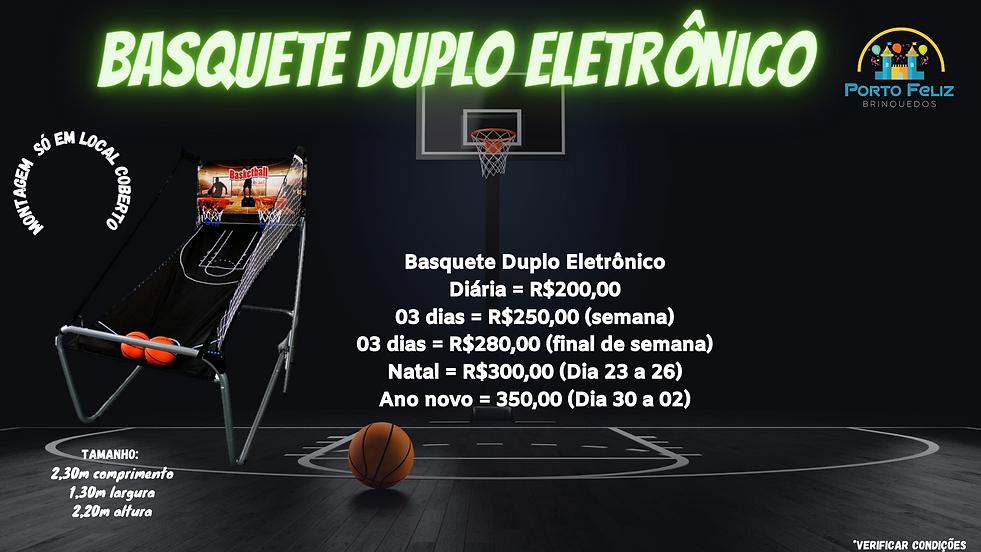 basquete duplo eletronico