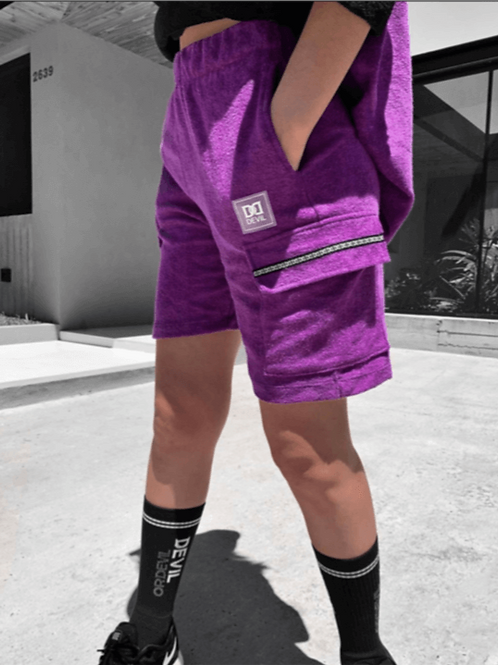 Bermuda Towel Violet