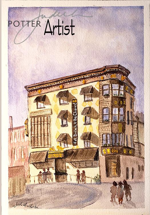 Ciros Restaurant, on Cherry Street