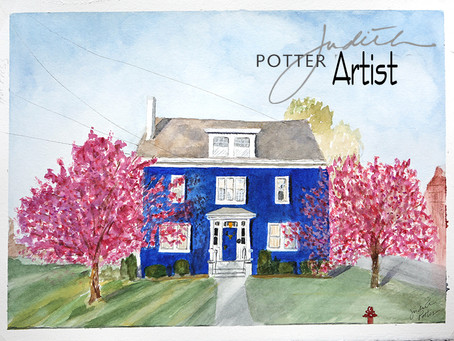The Larder House, Watercolor
