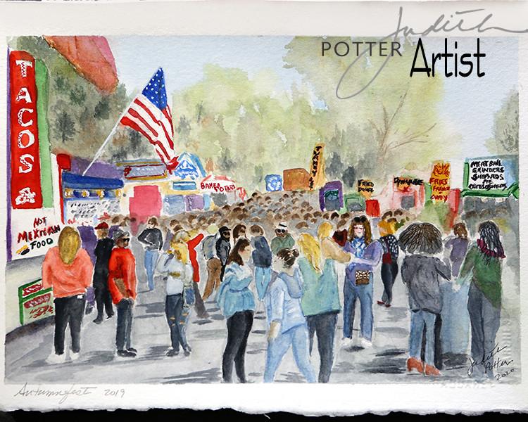 Autumnfest - Watercolor.