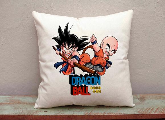 Funda cojín Goku i  Krilín. (Dragon Ball)