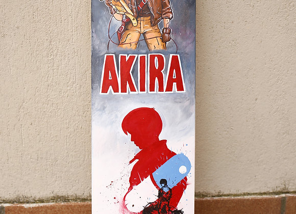 "SKATE Tributo al manga ""Akira"" 80X20cm"