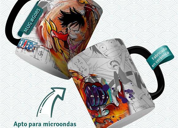 TAZA One Piece Monkey D.Luffy