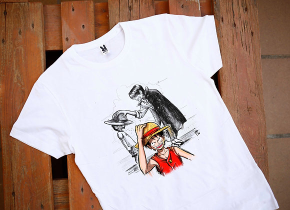 SAMARRETA Luffy + Shank (One Piece)