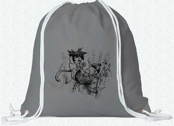 MOCHILA Goku +Abuelo  (Dragon Ball)
