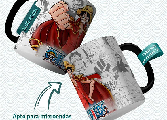 TAZA One Piece Luffy The king
