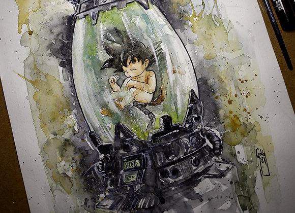 Goku Baby Inicio de la leyenda- ORIGINAL