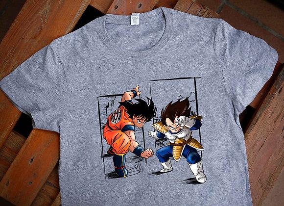 SAMARRETA Goku + Vegeta KAIOKEN  (Dragon Ball)