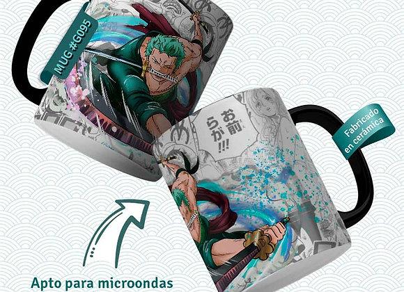 TAZA One Piece Roronoa ZORO