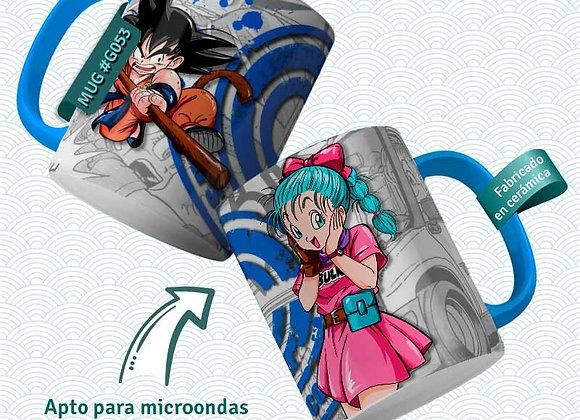 TAZA BulmaGokuCorp (Dragon Ball)