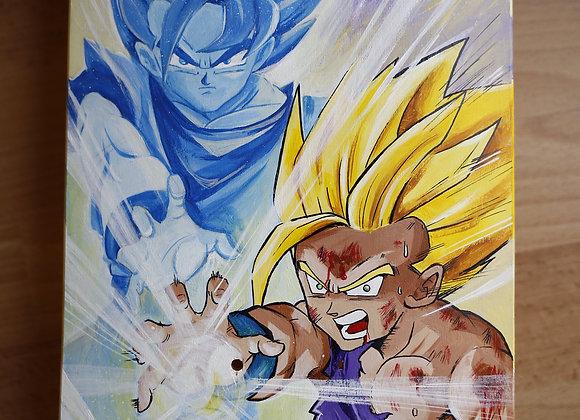 """SKATE Tributo al manga """"Dragon Ball"""" 80X20cm"""