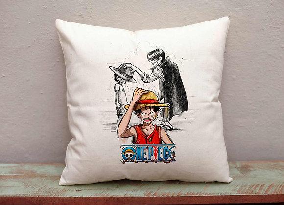 Funda coixí Luffy y Shanks- ONE PIECE