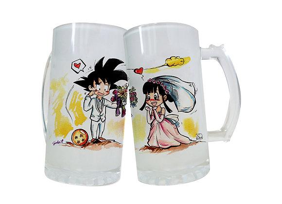 JARRA GOKU I CHICHI BODA (Dragon Ball)