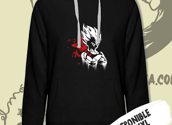 SUDADERA Vegeta Kanji (Dragon Ball)