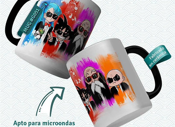 TAZA Men in Black (Dragon Ball)